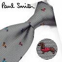 ポールスミス ネクタイ PS86 グレー/マルチカラー 8cm幅 【Paul Smith・ポールスミスネクタイ・ネクタイ ブランド…