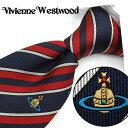 ヴィヴィアン ウエストウッド ネクタイ(8.5cm幅) VW36 【Vivienne Westwood・ヴィヴィアンネクタイ・ネクタイ ブ…