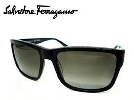 【Ferragamo】フェラガモ サングラス ブラック/グレーグラデーション SF690S 001【送料無料】