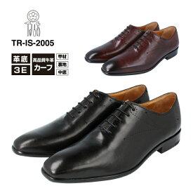 Irodoli イロドリTR-IS-2005ビジネスシューズ カウカーフレザー メンズ3E 本革 革靴