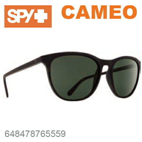SPY スパイCAMEO カメオ648478765559SOFT MATTE BLACKサングラス メンズ レディース ユニセックス スポーツ ファッション オシャレ