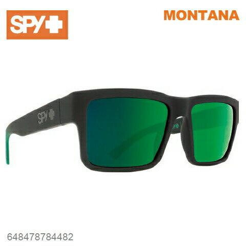SPY スパイMONTANA モンタナ648478784482SOFT MATTE BLACK / GREEN FADEサングラス メンズ レディース ユニセックス スポーツ ファッション オシャレ