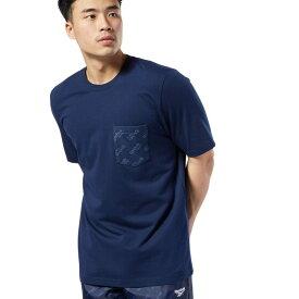 【公式】リーボック Reebok CL ロゴ ポケット Tシャツ メンズ EC4563 クラシック ウェア