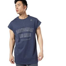 【公式】リーボック Reebok 【2019秋冬新作】 レズミルズ ボディコンバット Tシャツ M メンズ ED0568 トレーニング ウェア