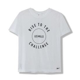 【公式】リーボック Reebok 【2020春夏新作】レズミルズ ボディコンバット グラフィック Tシャツ / LES MILLS BODYCOMBAT Graphic Tee レディース GK3737 スタジオ ウェア