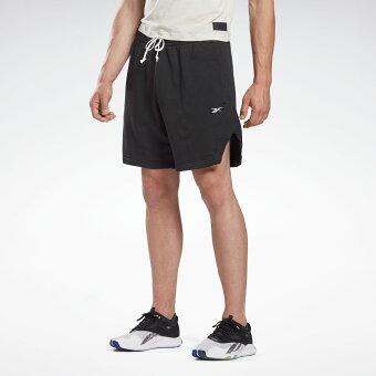 【公式】リーボック Reebok 【2020秋冬新作】レズミルズ 7インチ フレンチ テリー ショーツ / LES MILLS 7-Inch French Terry Shorts メンズ GE1011 スタジオ ウェア sportsday_4