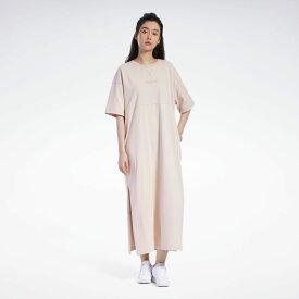 【公式】リーボック Reebok フューチャリスティック ロング ドレス / Futuristic Long Dress レディース GN9522 クラシック ウェア p1030