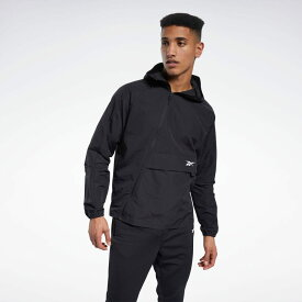 【公式】リーボック Reebok フル ジップ ウーブン ジャケット / Full Zip Woven Jacket メンズ FS8576 トレーニング ウェア p1030