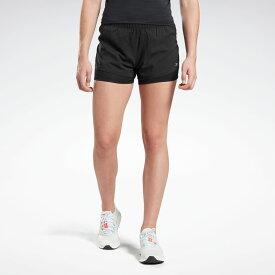 【公式】リーボック Reebok ランニング エッセンシャルズ ツーインワン ショーツ / Running Essentials Two-in-One Shorts レディース FL4483 ランニング ウェア ランニングウェア