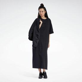 【公式】リーボック Reebok フューチャリスティック ロング ドレス / Futuristic Long Dress レディース GN9521 クラシック ウェア p1030