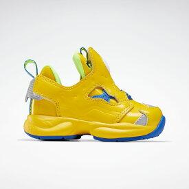 【公式】リーボック Reebok 【Reebok CLASSIC × ミニオンズ】インスタポンプ フューリー / Versa Pump Fury Shoes キッズ FY3405 クラシック シューズ