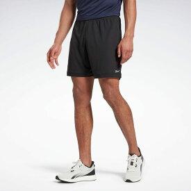 【公式】リーボック Reebok ラン エッセンシャルズ ベーシック 7インチ ショーツ / Run Essentials Basic 7-Inch Shorts メンズ FT1056 ランニング ウェア ランニングウェア