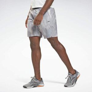 【公式】リーボック Reebok 返品可 エピック ライトウェイト プリント トレーニング ショーツ / Epic Lightweight Printed Training Shorts レディース メンズ GS6587 トレーニング ウェア・服