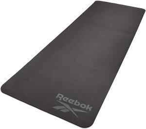 リーボック(Reebok) 両面6mm ヨガマット ヨガ ピラティス トレーニングマット ストレッチマット エクササイズマット トレーニング 軽量 幅広 ダイエット yoga RAYG-11042