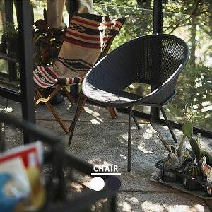 ガーデンチェア ガーデンチェアー おしゃれ 椅子 アジアン カフェ 安い ポリプロピレン PP ラタン 風 スタッキング チェア ダークグレー 黒 白 ベランダ 屋内 屋外 新生活 テラス ウッドデッ