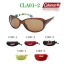 coleman コールマン CLA01-2 サングラスケースセットレディース サングラス オーバルデザイン 偏光 ゴルフ お洒落 女性 メンズ 送料無料