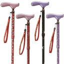 ディズニー ミッキー&ミニー 杖 おりたたみ式 ストラップ付き ケイホスピア 適応身長約150〜170cm 女性 女の子 ※代引…