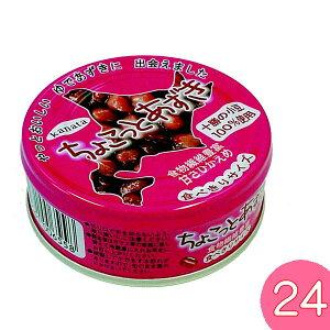 ちょこっとあずき 90gx24缶 北海道 十勝産小豆 あんこ おしるこ 缶 ゆであずき 和菓子 田中製餡