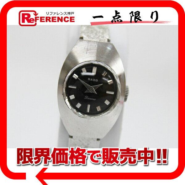 RADO ラドー デュランス レディース腕時計 カットガラス 手巻き アンティーク 【中古】