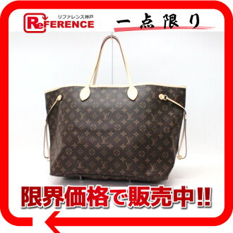 LOUIS VUITTON路易·vitommonoguramunevafuru GM大手提包M40990未使用的KK