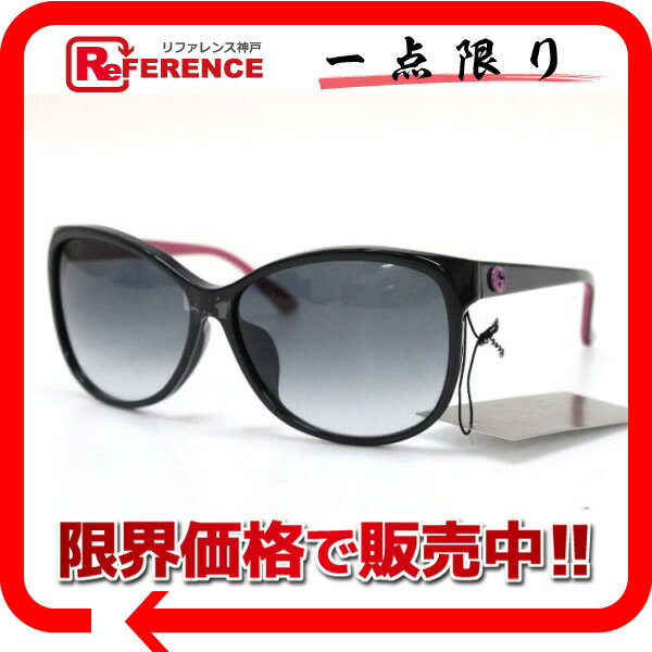 GUCCI グッチ サングラス ブラック×ピンク GG1375/F/S 未使用 KK 【中古】