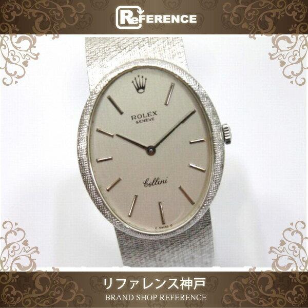 ROLEX ロレックス チェリーニ メンズ腕時計 K18WG ベルト 手巻き 4044154 【中古】 KK ロレックス チェリーニ ロレックス メンズ腕時計