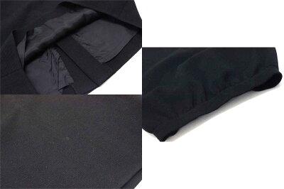 【YvesSaintLaurent】イヴサンローランスカート9号ブラック【中古】【楽ギフ_包装】《あす楽対応》