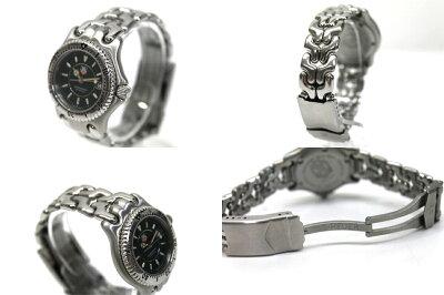 【TAGHEUER】タグホイヤーセルシリーズプロフェッショナル200Mレディース腕時計クオーツGPWG1430-0【中古】【楽ギフ_包装】《あす楽対応》【送料無料】