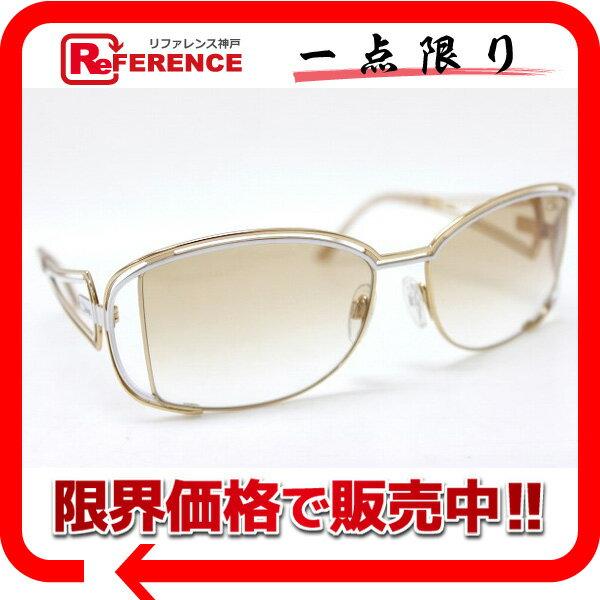CAZAL カザール サングラス ゴールド×ホワイト 975 美品 【中古】 KK