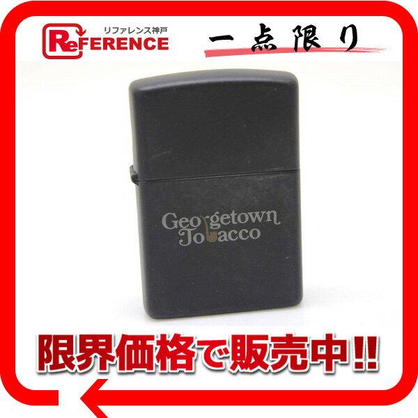 ZIPPO ジッポー 1995年 Georgetown Tobacco オイルライター マットブラック 【中古】 KK