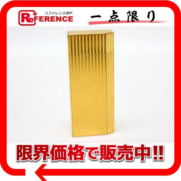 CARTIER カルティエ 5角 ガスライター 喫煙具 メンズ レディース ライター メタル ゴールド ユニセックス【中古】