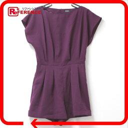 MAX&CO最大和科一體式乳罩緊身衣短袖裝置紫女士