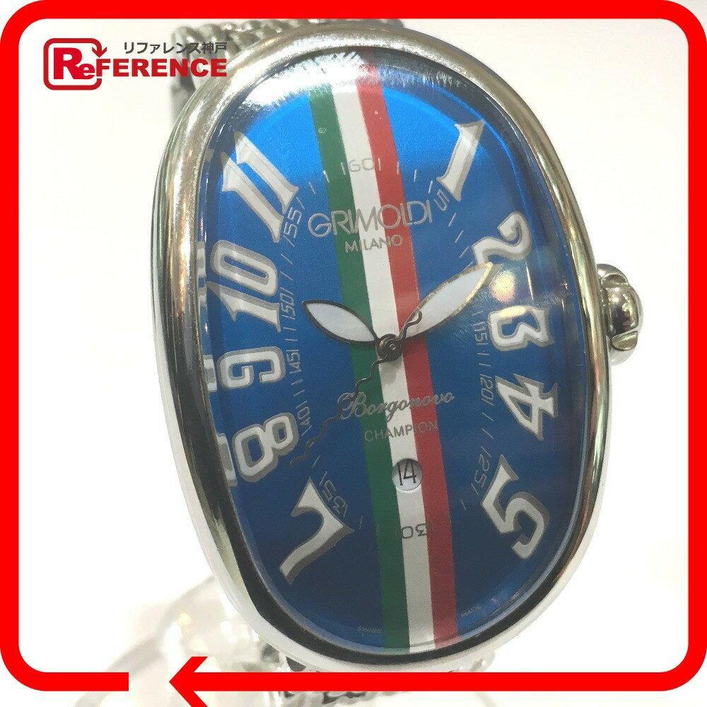 GRIMOLDI グリモルディ メンズ腕時計 ボルゴノーヴォ 50本限定品 腕時計 SS シルバー メンズ【中古】