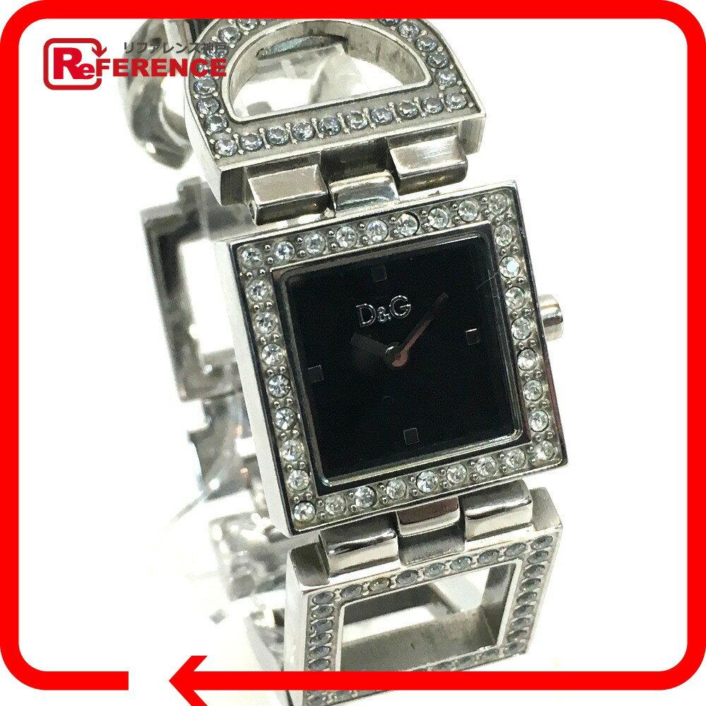 DOLCE&GABBANA ドルチェアンドガッバーナ 3719251532 レディース腕時計 クオーツ ナイト&デイ 腕時計 SS シルバー レディース【中古】
