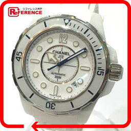 CHANEL香奈爾H2560人手錶J12海軍陸戰隊手錶陶瓷器/橡膠皮帶白人