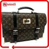 """LOUIS VUITTON 2004 Men's Collection Monogram """"Larry"""" Business Bag M92292"""