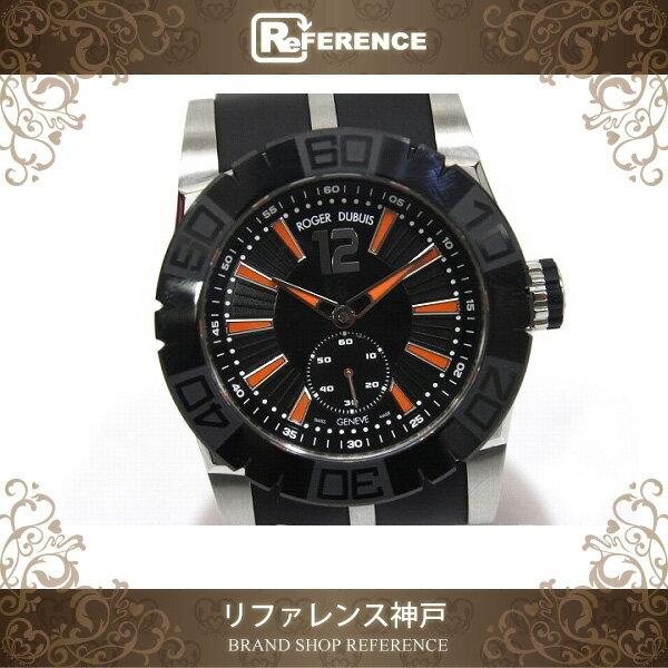 ROGER DUBUIS ロジェ・デュブイ DBSE0269 メンズ腕時計 トリロジー ニューイージーダイバー 腕時計 SS/セラミック ブラック メンズ【中古】