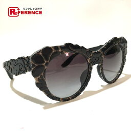 和DOLCE&GABBANA doruchieandogabbana DG 4267-F dorugabakyattsu·眼睛質地太陽眼鏡塑料黑色女士新貨一樣
