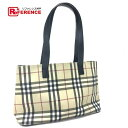 4f1e9e51e58c BURBERRY Burberry tote bag Novacek shoulder bag PVC X leather   beige Lady s