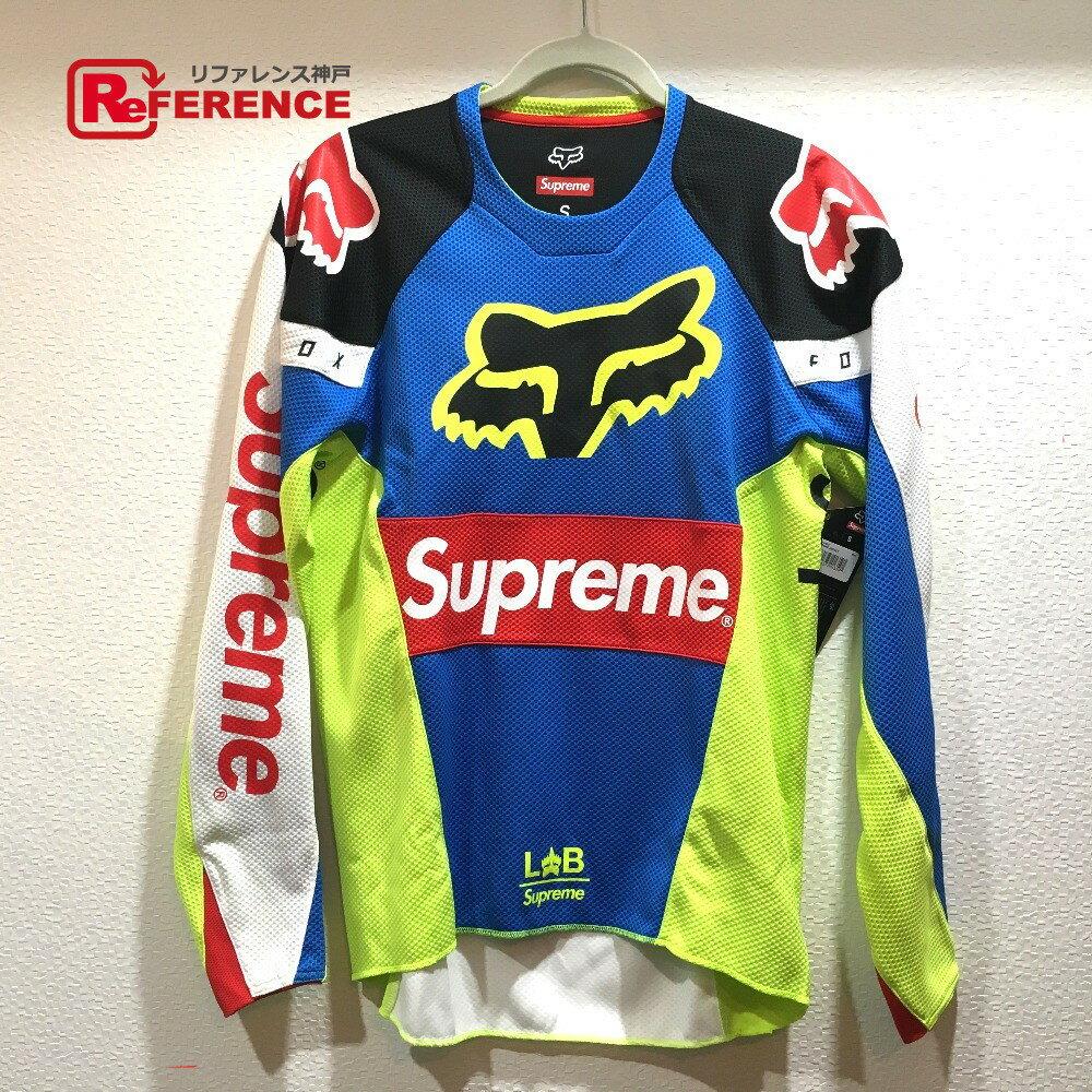 Supreme シュプリーム ジャージ トップ Supreme Fox Racing Moto Jersey Top 18SS シュプリーム×フォックスレーシング 長袖シャツ マルチカラー メンズ【中古】