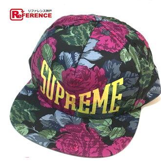 BRANDSHOP REFERENCE  AUTHENTIC Supreme Unused cap Floral Men s Women s hat  Black  4a2f57820