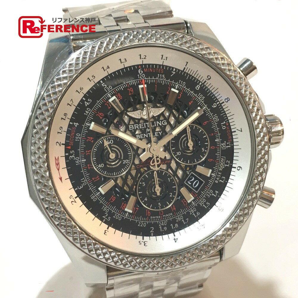 BREITLING ブライトリング AB0611 メンズ腕時計 ベントレーB06 裏スケ 腕時計 SS シルバー メンズ【中古】