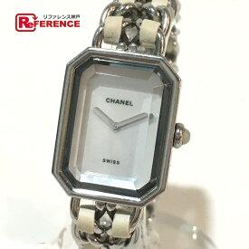 b838490d9127 中古 CHANEL シャネル H1639 レディース腕時計 プルミエール 腕時計 SS/ラバー シルバー レディース【中古】