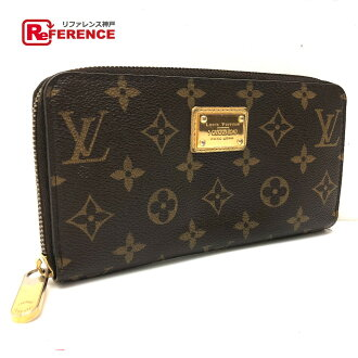 AUTHENTIC LOUIS VUITTON Monogram Zippy - Wallet Hong Kong Guangdong Road shop limited Long Wallet (with Coin Compartment) Brown MonogramCanvas M66570