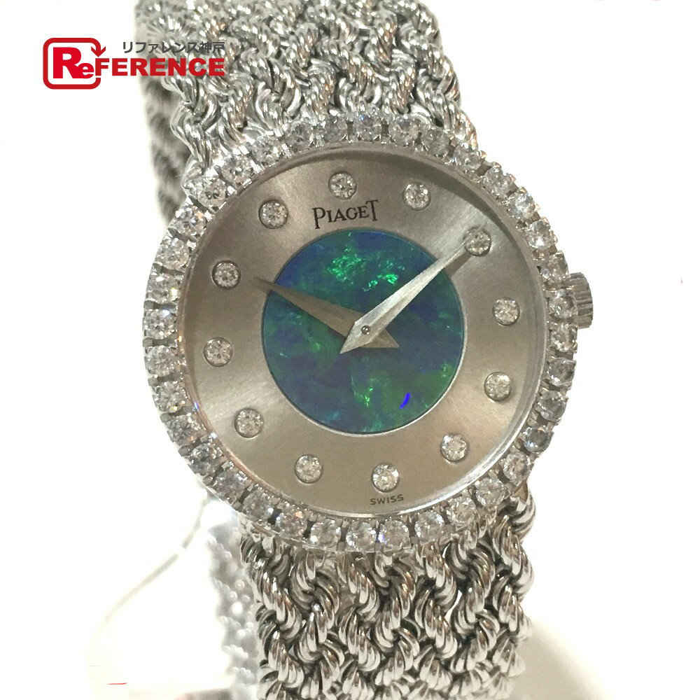 PIAGET ピアジェ レディース腕時計 K18WG無垢 ダンサー 12Pダイヤ 腕時計 K18WG ホワイトゴールド レディース【中古】