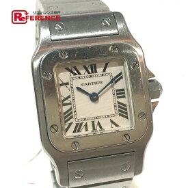 CARTIER カルティエ W20056D6 レディース腕時計 サントスガルベSM 腕時計 SS シルバー レディース【中古】