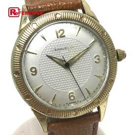 4719ebfa85 CARAVELLE キャラベル メンズ腕時計 アンティーク腕時計 自動巻き 腕時計 K10ゴールド ゴールド メンズ【中古