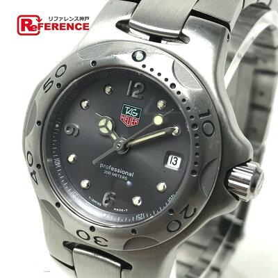 TAG HEUER タグホイヤー  WL1311-0 レディース腕時計 キリウム プロフェッショナル200M 腕時計 SS シルバー レディース【中古】