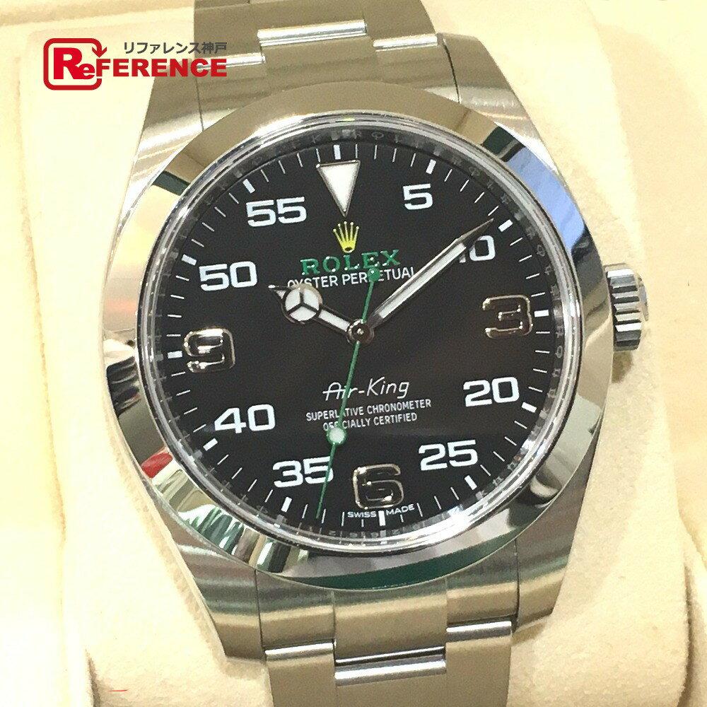ROLEX ロレックス 116900 オートマチック腕時計 エアキング オイスターパーペチュアル 腕時計 SS シルバー メンズ 未使用【中古】
