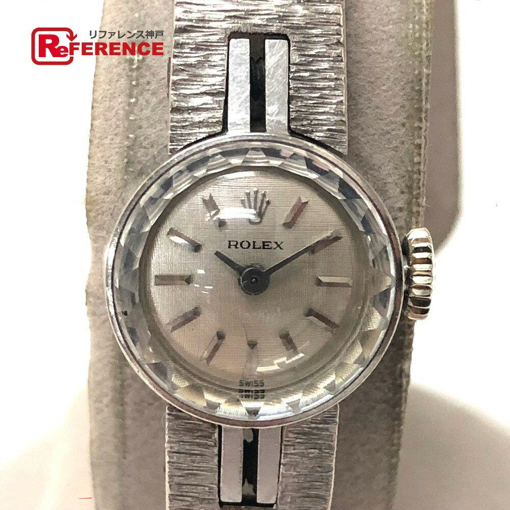 ROLEX ロレックス レディース腕時計 カメレオン プレシジョン 腕時計 K18WG レディース【中古】